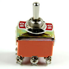 New 6 Pin Toggle DPDT ON-OFF-ON Switch 15A 250V Mini Switches