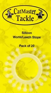 CatMaster Tackle Silicon Leech & Worm Stops