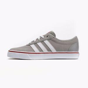 Adidas Men Adi-Ease ADV Skateboarding Shoe Grey / White / Red C76828
