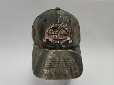 CABELAS HAT CAP FIELD TESTER CAMO OUTDOOR HUNTING FISHING CAMPING 84046f56d687
