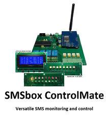 3G SMS/dial-in 4-ch remote control (Gates Pumps Generators Locks etc)