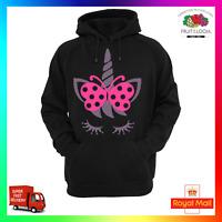 Unicorn Butterfly Hoodie Hoody Cute Sweat Cool Fantasy Glitter On Point Fun