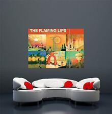 Flaming Lips YOSHIMI rosa copertura robot MUSICA Poster Artistico Gigante stampa wa491