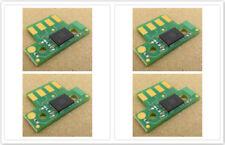 4pcs Reset Toner Chip for Lexmark C540;C543;C544;C546;X543;X544;X546;X548