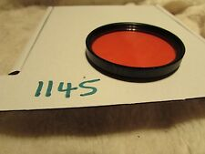 ORANGE O1 / M49, Yellow 49MM quality filter R Y See pictures