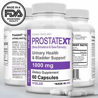 Prostate Support Urinary Health Bladder Beta Sitosterol Prostate Supplement 60ct