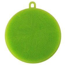 Silicone DishWashing Sponge Scrubbers Pad Kitchen Cleaning Mat Washing Tools