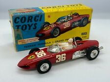 Vintage Corgi 154 Ferrari F1 Grand Prix Racing Car Glidamatic /w Original Box