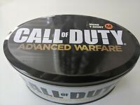 Call of Duty Advanced Warfare Activision 2014 Black T-Shirt Men's M NWT + Tin