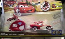 CARS - CRUISIN' MCQUEEN (SAETTA) & TRAILER Road Trip - Mattel Disney Pixar