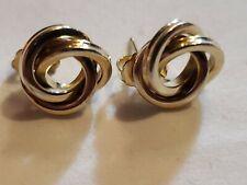 Petite Carla Love Knot 14k Gold Earring
