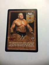 Promo Card (WWE) 2003 Comic Images Raw Deal Velocity Brock Lesnar  23/PR