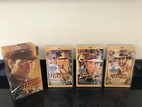 Indiana Jones Trilogy Vintage Vhs Video Cassette Tape Complete Boxed Set