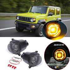 Fit For Suzuki Jimny 2019-20 Replacement Black Front Turn Signal Light Lamp 2PCS