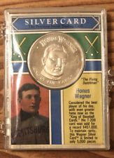 1992 Silver Card The Money Co Honus Wagner .999 Coin And Trading Card -Only 5000
