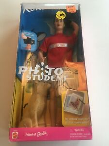 Mattel Ken Photo Student Doll Friend of Barbie 2001