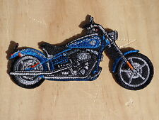 D051 ECUSSON PATCH TOPPA AUFNAHER THERMOCOLLANT MOTO sporster dyna iron custom
