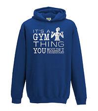 Juko It's A Gym Thing Hoodie Gymnastics Girls Hood