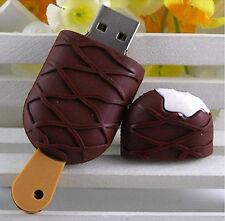 Cute Cool ice cream model USB 2.0 Flash Drive Full Memory Stick Pen Thumb 16G