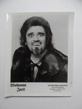 c.1975 Wolfman Jack Radio Personality Dj Publicity Photo Don Kelley Organization