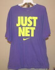 Nike Classic Purple Nike JUST NET 3XL T-Shirt