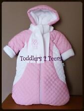 Baby Newborn Boy Girl White Snowsuit Footmuff Buggy Snuggle Sleeping Bag Pram