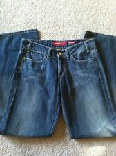 Miss Sixty Basic Italy Tommy Wide Leg Blue Denim Jeans Size 27 X 30 Designer EUC