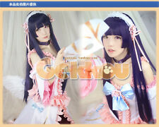 My Little Sister Can't Be This Cute Kuroneko Anime Long Cosplay Wig + Cap