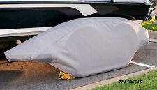 RANGER-GRAY: Boat trailer fender/tire storage covers tandem fiberglass exact fit