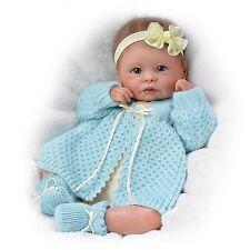 Ashton Drake- SWEETLY SNUGGLED SARAH baby girl doll by Linda Murray