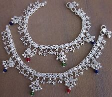 Bare Foot Ankle Jewelry Anklet Bracelet Charm German Silver Handmade India Payal