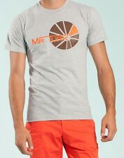 MR TURK 'Sunray (Sun Ray)' Men's Graphic Designer T-Shirt M Heather Gray **NWT**