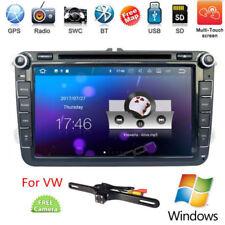 "Windows 8"" Indash Car Radio Stereo DVD Player GPS Navigation FM/AM For VW Passat"
