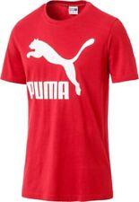 PUMA Classics Logo Tee Ribbon Red L
