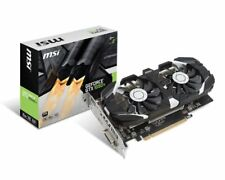 MSI GeForce GTX 1050 Ti 4GB OC GDDR5 Graphics Card