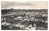 Early 1900s Panorama of Ponta Delgada, St. Michael's, Azores Postcard