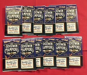 Lot of 25 2012 Upper Deck Goodwin Champions Baseball Sealed Unopened Packs