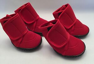 Paw Tech Neoprene Dog Boot M L Red New Winter Paw Protection Water Resistant
