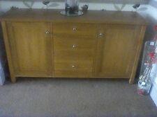 next oak side board unit