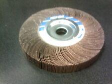 """Norton 8"""" X 1"""" X 1"""" Abrasive Flap Wheel 60 Grit Bench Pedestal Grinder Sander"""