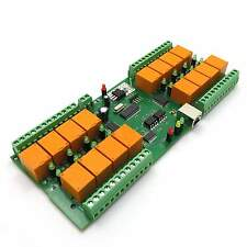 USB 16 Kanal Relaiskarte (JQC-3FC/T73), 16 Relai Seriell - 12V