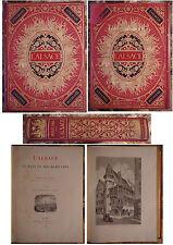 GRAD. L'ALSACE. LE PAYS ET SES HABITANTS. 386 GRAVURES ET 17 CARTES. 1889.