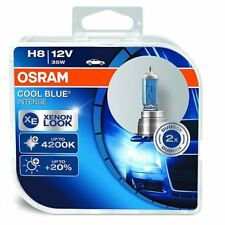 OSRAM Cool Blue Intense H8 Car Headlight Bulb 64212CBI-HCB (Twin)