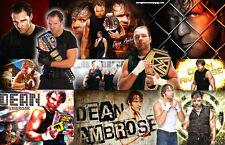Dean Ambrose (WWE) Collage Poster