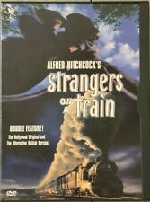 Alfred Hitchcock's Strangers on a Train 1951 Dvd (1997) Used Very Good 2-Version