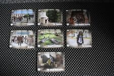 THE WALKING DEAD SEASON 5 BASE SET TRADING CARDS LOCATIONS L1-L7 CHASE SET