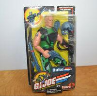 """GI JOE VS COBRA DUKE 12"""" Action Figure Doll MOC 2001 Hasbro"""
