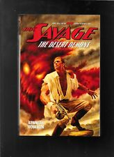 Doc Savage The Desert Demons paperback novel Robeson & Murray
