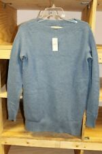 Loft Boatneck Tunic Sweater Color:Blue Size:Small Nwt