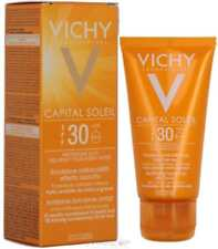 Vichy Ideal Soleil Mattifying Face Fluid Dry Touch SPF30 50ml - GENUINE & NEW